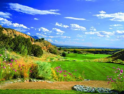 Twin Warriors Golf Club at Hyatt Regency Tamaya Resort and Spa in Santa Ana Pueblo, New Mexico.
