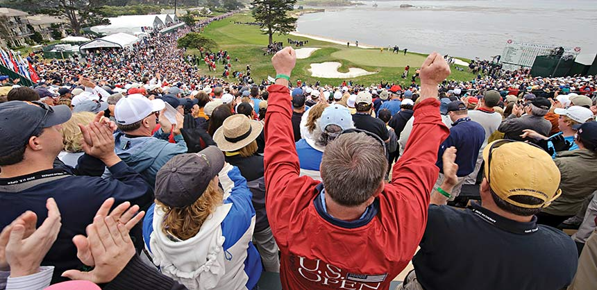 The U.S. Open Championship at Pebble Beach Resort. Credit: TGO Photography
