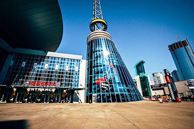 Nashville's Visitor Center.