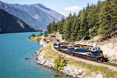 Rocky Mountaineer provides spectacular scenery as the backdrop to an intimate meeting.