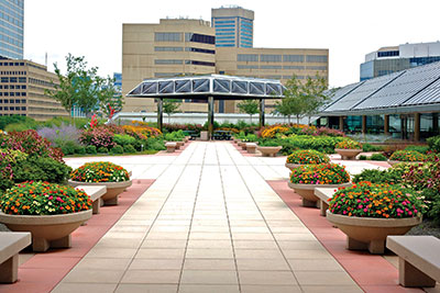 Baltimore Convention Center's Green Terrace. Credit: Visit Baltimore