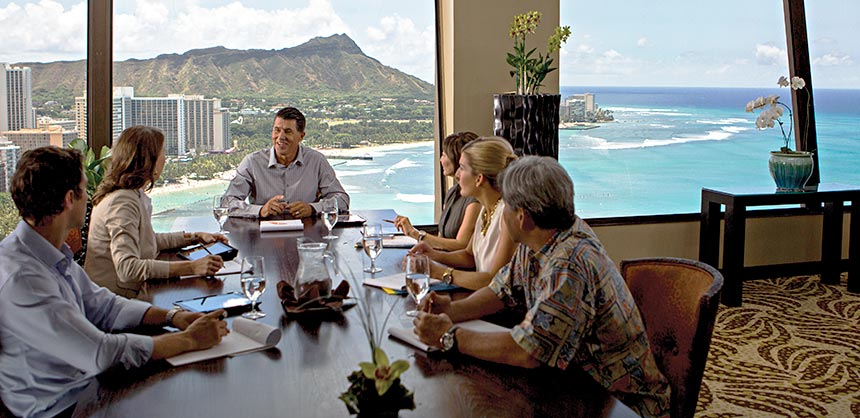 A trip to a special destination is a huge motivator for hard-working employees. Credit: Hawaii Visitors & Convention Bureau