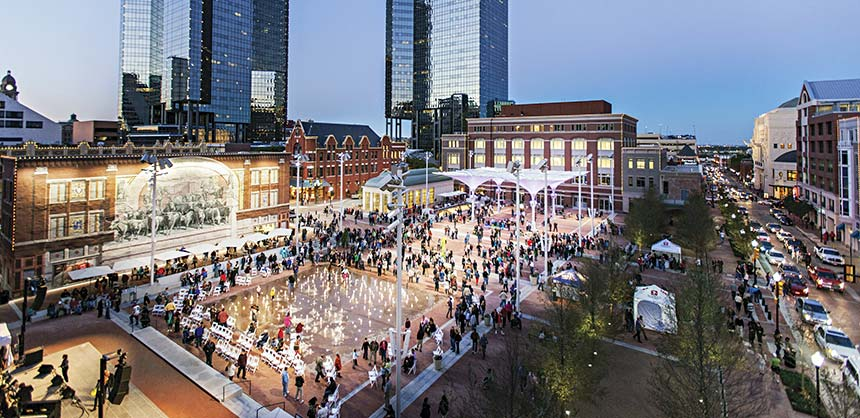 Fort Worth is a unique meeting destination for attendees offering a variety of activities from museums to rodeos. Credit: Visit Fort Worth