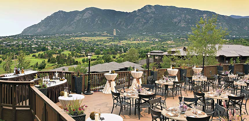 Cheyenne Mountain Resort in Colorado Springs is an IACC-certified meeting facility with more than 40,000 square feet of function space and offers many engaging experiences. Credit: Kevin Syms