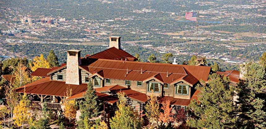 The Broadmoor in Colorado Springs is considered by consensus the best resort-style meeting property in the country, with 10 restaurants and 10 cafes and lounges. Credit: The Broadmoor