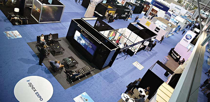 Event space is an important part of the puzzle — make sure it's the right fit for your needs. Credit: Cathy Breden/ Center for Exhibition Industry Research