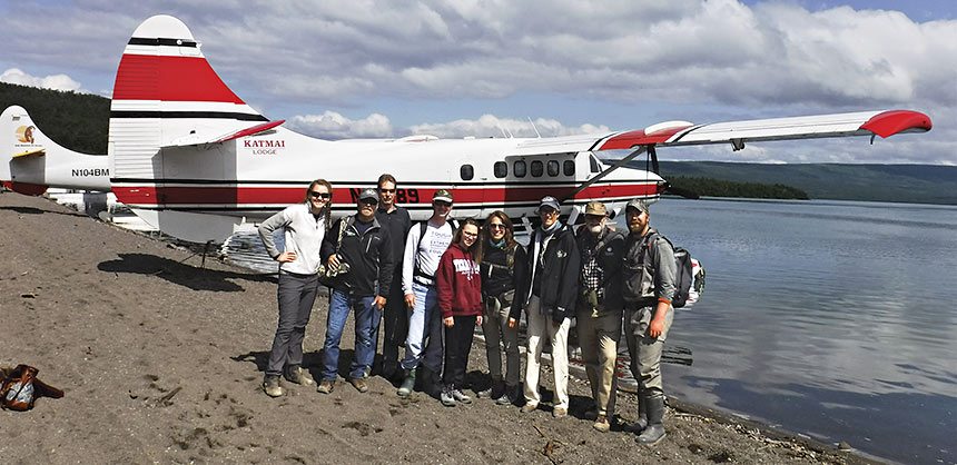 One way to get to Katmai Lodge is by private charter from Anchorage. The hour-long flight travels over some of Alaska's most beautiful scenery. Credit: Katmai Lodge