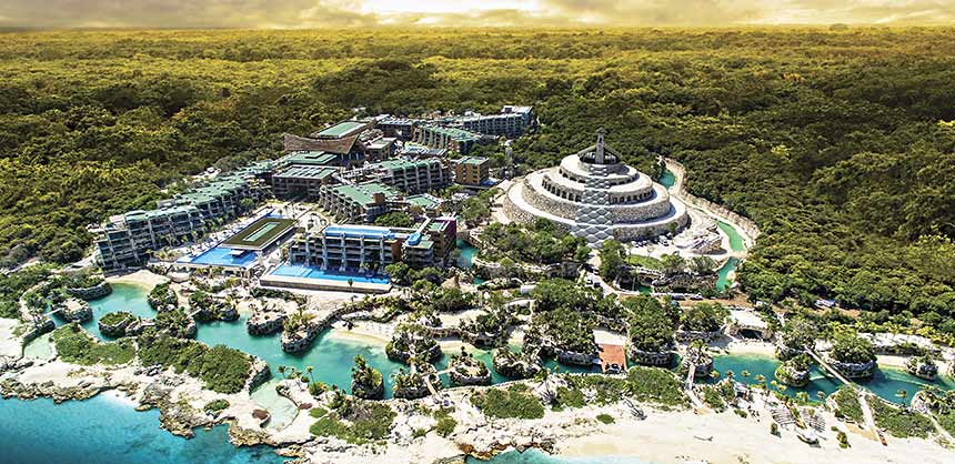 Hotel Xcaret Mexico is a new all-inclusive property in the Riviera Maya, near Playa del Carmen. Credit: Hotel Xcaret Mexico