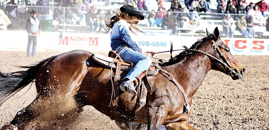 The annual Fiesta de los Vaqueros rodeo, held in Tucson since 1925, was created to draw more visitors to Tucson during the mid-winter months.