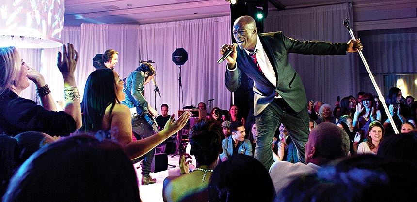 Live entertainment featuring well-known acts is one of the best ways to create an event that wows attendees.