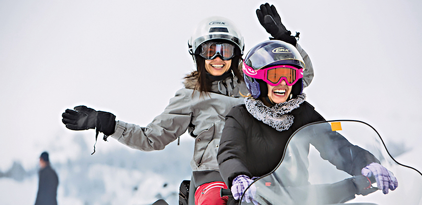 California's Mammoth Lakes offers unique team-building activities in the winter.