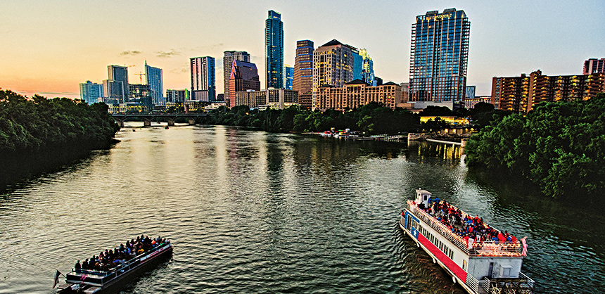 Austin is a hotbed for both culture and conferences. Six hotels opened this year, adding about 18,000 sf of meeting space.