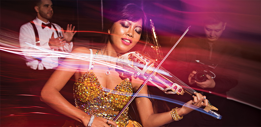 Memorable entertainment can be anything from a magician walking among attendees to a local theater group performance to a world- renowned violinist to a big-name musical group. Whatever the budget allows, planners should aim high.