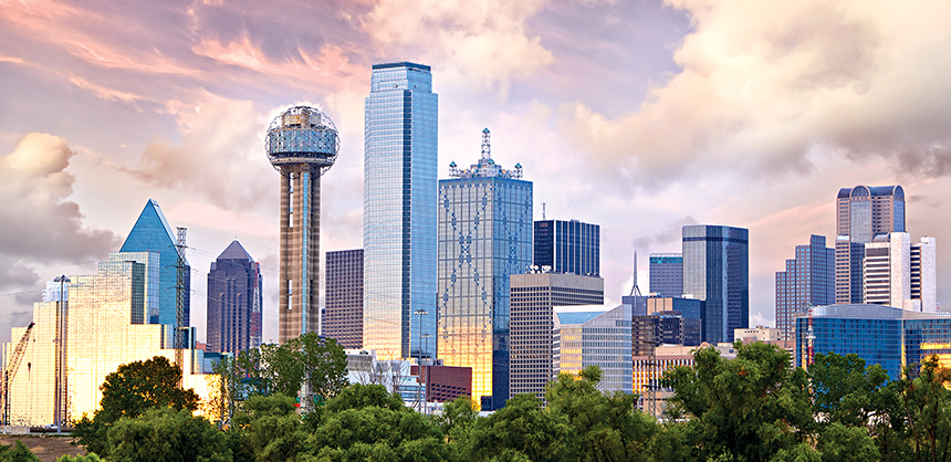 Dallas offers more than 80,000 hotel rooms, 13,000 of which are in downtown.