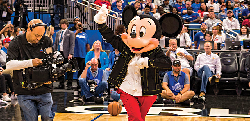 Mickey Mouse at Amway Center
