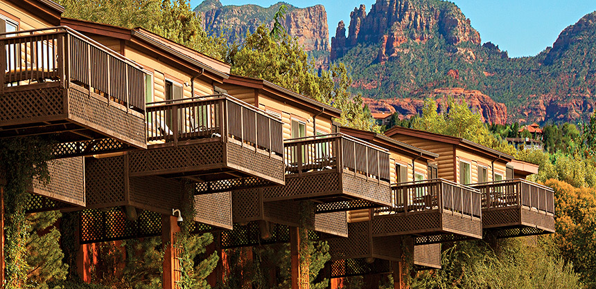 L'Auberge de Sedona was the venue of choice for Ensign Services Inc.