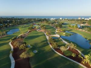 The Naples Beach Hotel & Golf Club -- Aerial of Golf Course