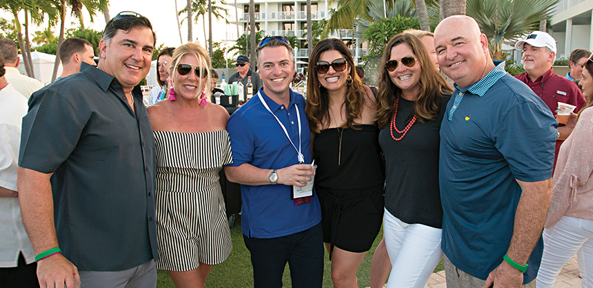 """Attendees of the Florida Restaurant and Lodging Association's annual summer board meeting enjoy themselves at Hawks Cay Resort in the Florida Keys. Ashley Dover Gholston, director of Industry Relations & Events, says,  """"There is no better place than Hawks Cay Resort."""""""