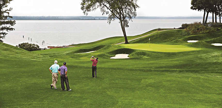 Kingsmill Resort offers planners and attendees championship-level golf on either its River Course or its Plantation Course.