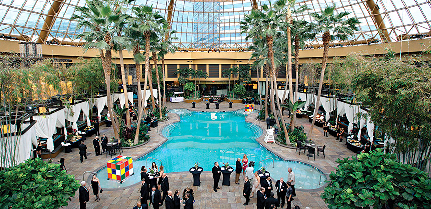 Harrah's Resort Atlantic City, and other Caesars Entertainment properties, have meeting facilities that can ensure social distancing.