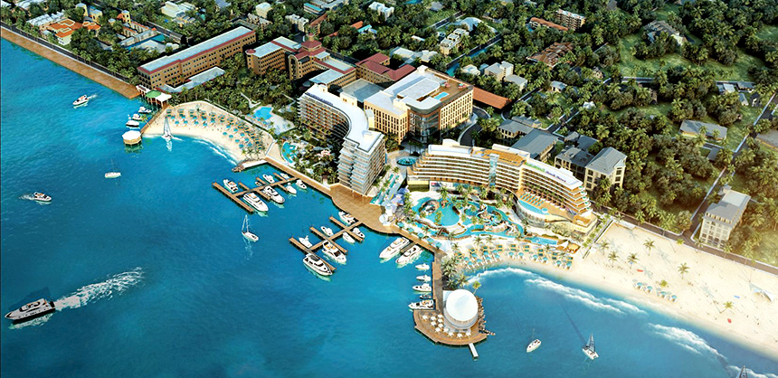 Margaritaville Beach Resort Nassau is expected to open this year. It will offer a water park and 40,000 sf of meeting space.