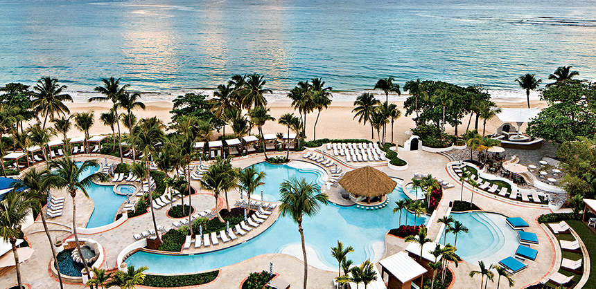 The Hotel El San Juan - Curio by Hilton, recently renamed the Fairmont El San Juan Hotel, offers nearly 40,000 sf of flexible space.