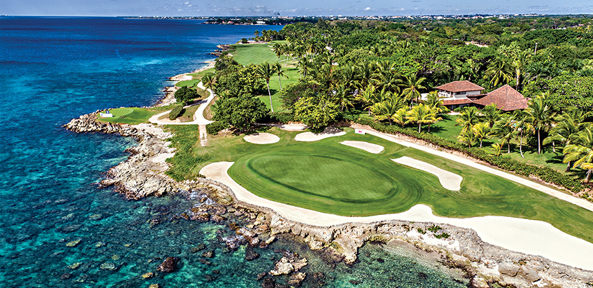 Guests at Casa de Campo Resort in the Dominican Republic have access to a golf learning center.