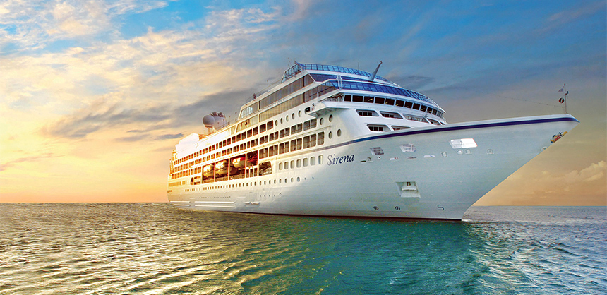 Oceania Sirena is one of Oceania Cruises' newest ships.