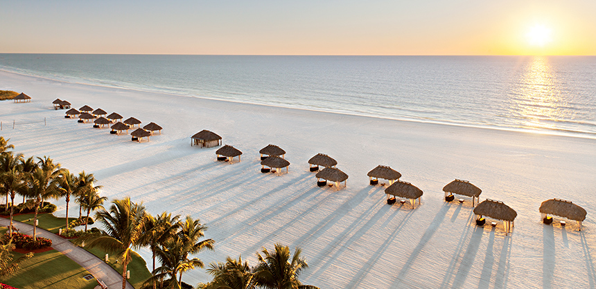 Sunset at JW Marriott Marco Island Beach Resort. Florida Photographer Jeff Herron