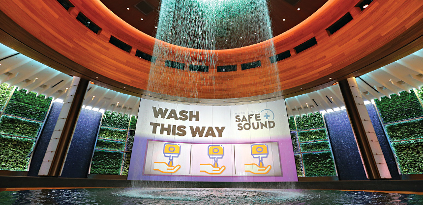 Seminole Hard Rock Hotel & Casino Hollywood's Safe+Sound Program offers an extra sense of safety amid its 120,000 sf of flexible meeting space. The resort last winter also wrapped up a $1.5 billion renovation.  Photo By Ralph Notaro
