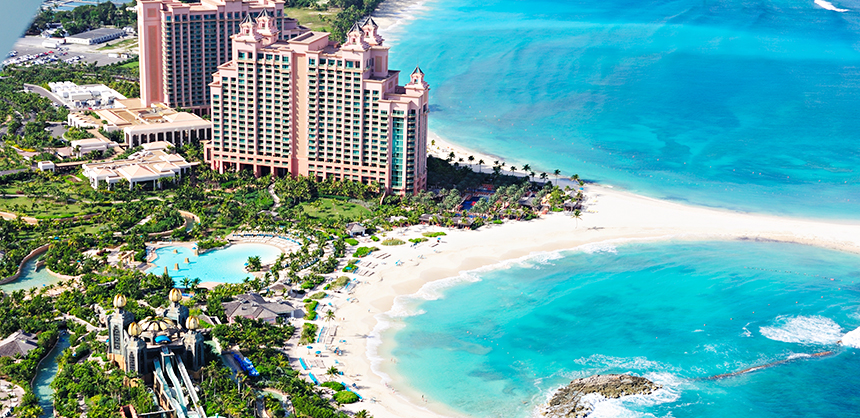 Atlantis, Paradise Island in the Bahamas has long been a favorite destination for meeting planners and attendees. © Bahamas Ministry of Tourism