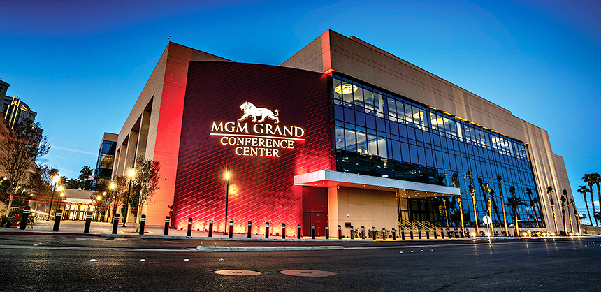 MGM Resorts International's MGM Grand Conference Center follows the Convene with Confidence program, part of MGM's Seven-Point Health and Safety Plan.