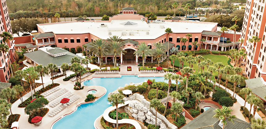 The Caribe Royale Orlando is undergoing a major renovation. An additional 50,000-sf ballroom and meeting space are scheduled to open in 2021.