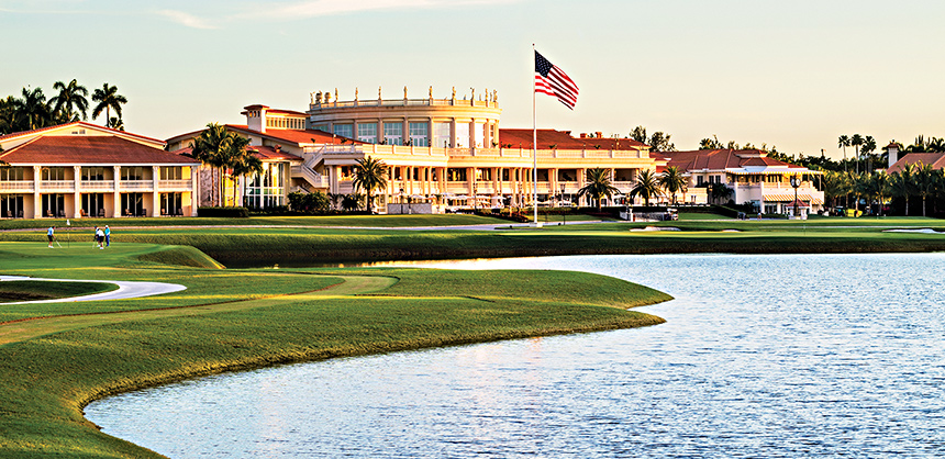In addition to offering world-class golf, the Trump National Doral Miami boasts more than 100,000 sf of meeting space and elegantly designed ballrooms.