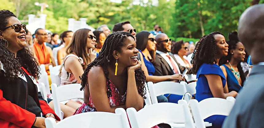 Jumi Aluko, event planner at Jumi Aluko Consulting, says minority attendees will register for an event if the event's diversity appeals to them. Photo courtesy of Jumi Aluko