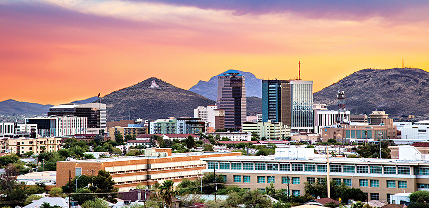 Tucson features several areas offering unique activities. They include Downtown, Central, Westside, Eastside, Southside, Catalina Foothills, Pima County and Oro Valley.