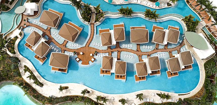 Seminole Hard Rock Hotel & Casino Hollywood's Bora Bora pool