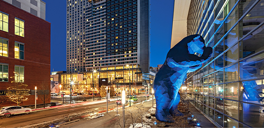 Hyatt Regency Denver at Colorado Convention Center offers 60,000 sf of meeting and event space, including 35 meeting rooms.
