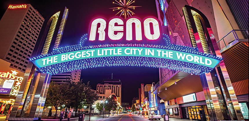 Reno has carved out its own niche as a meetings destination.