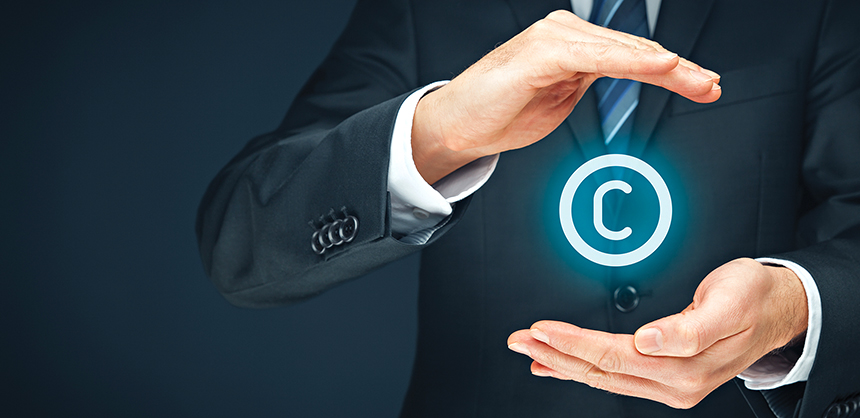 Copyright, patents and intellectual property protection law and rights.