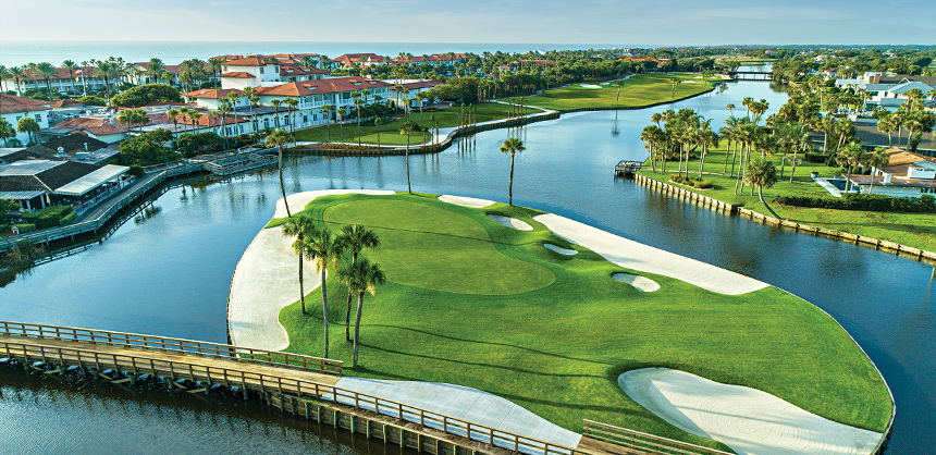 Ponte Vedra Inn & Club — with its Ocean Course and Lagoon Course — is called one of the golf capitals of the East Coast.