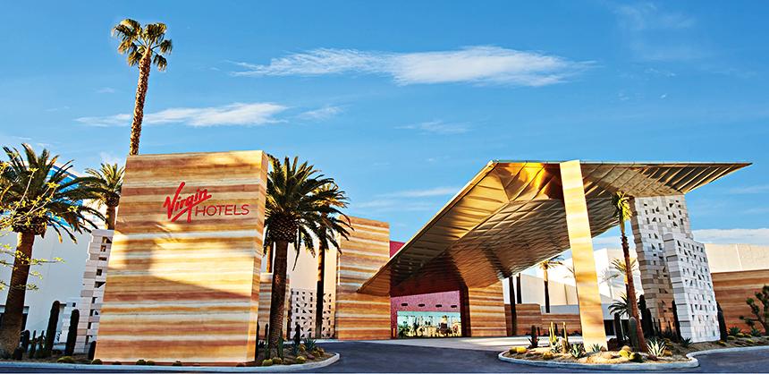 Virgin Hotels Las Vegas debuted in Spring 2021.