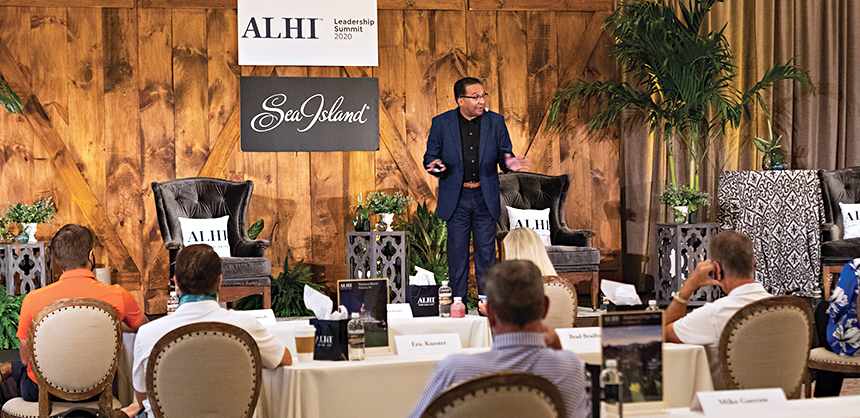 All live events held in the next few months must make sure all attendees feel safe and secure.  Associated Luxury Hotels International (ALHI) held its 2020 Leadership Summit at Sea Island, Georgia in October 2020. Photo Courtesy of Katie Bohrer