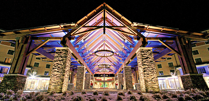 Mount Airy Casino Resort offers 1,800 slot machines and 80 table games.