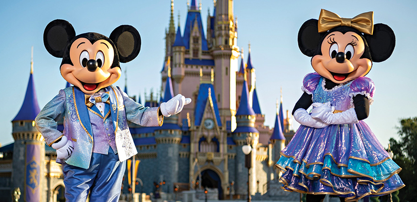Walt Disney World Resort is one of the top theme park attractions in the world. Photo by Matt Stroshane