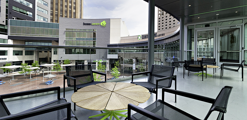 At the Boise Centre, a $47.5 million expansion added nine meeting rooms, a 14,000-sf ballroom and a new Executive Boardroom, bringing the center's total space to 86,000 sf.