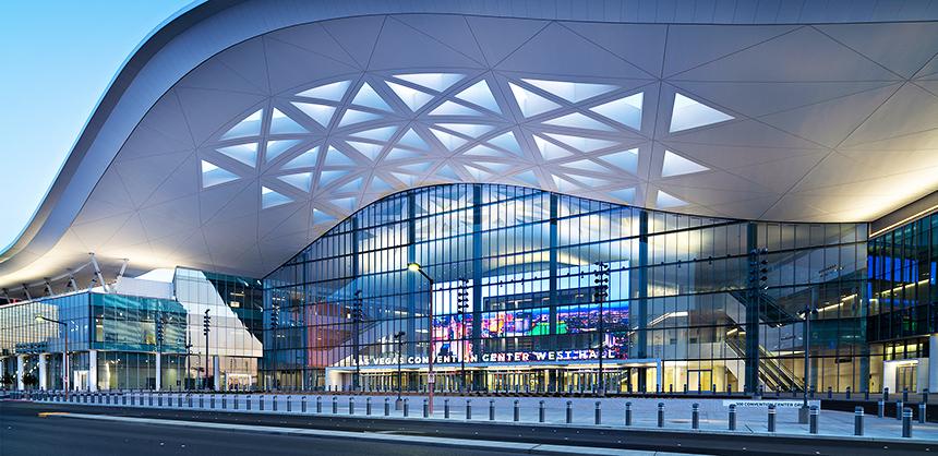 The Las Vegas Convention Center's West Hall.