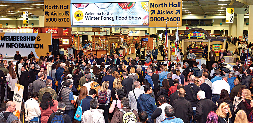 The Specialty Food Association's Winter Fancy Food Show drew 30,000 industry professionals to the George R. Moscone Convention Center early last year.
