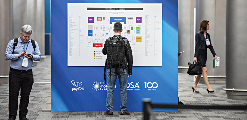 """The San Jose McEnery Convention Center has repeatedly been the site of the CLEO Conference. Kimberly L. Coerr, senior meeting manager for the conference, says San Jose is a """"natural home"""" for their event."""