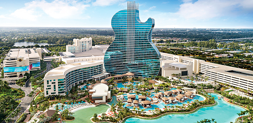 The Seminole Hard Rock Hotel & Casino Hollywood